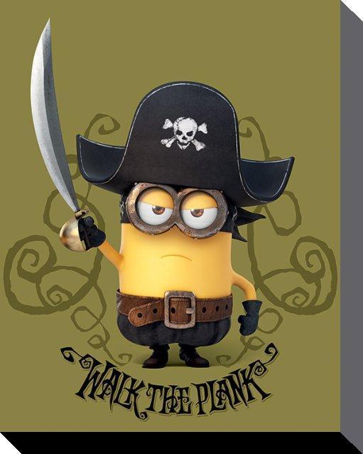 Pirate clipart minion #11