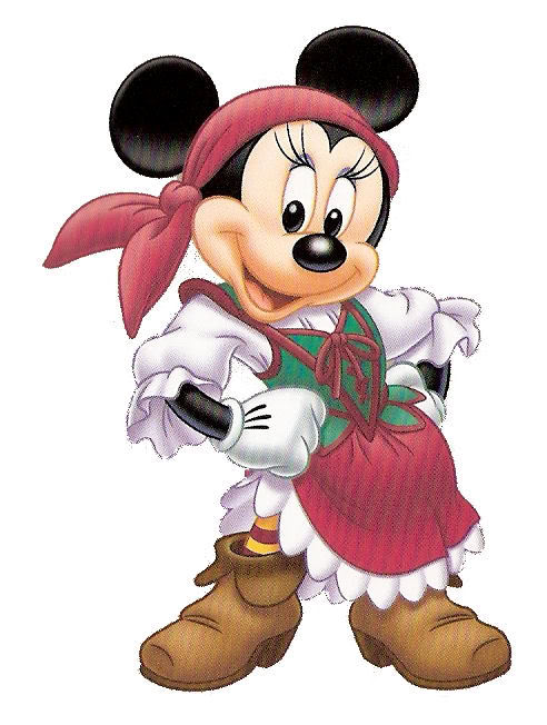 Pirate clipart minnie Goofy clipart Pirate Clipart by