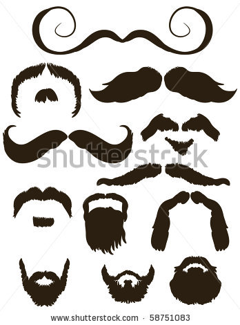 Blonde clipart mustache Cliparts Clipart Mushtache And Beard