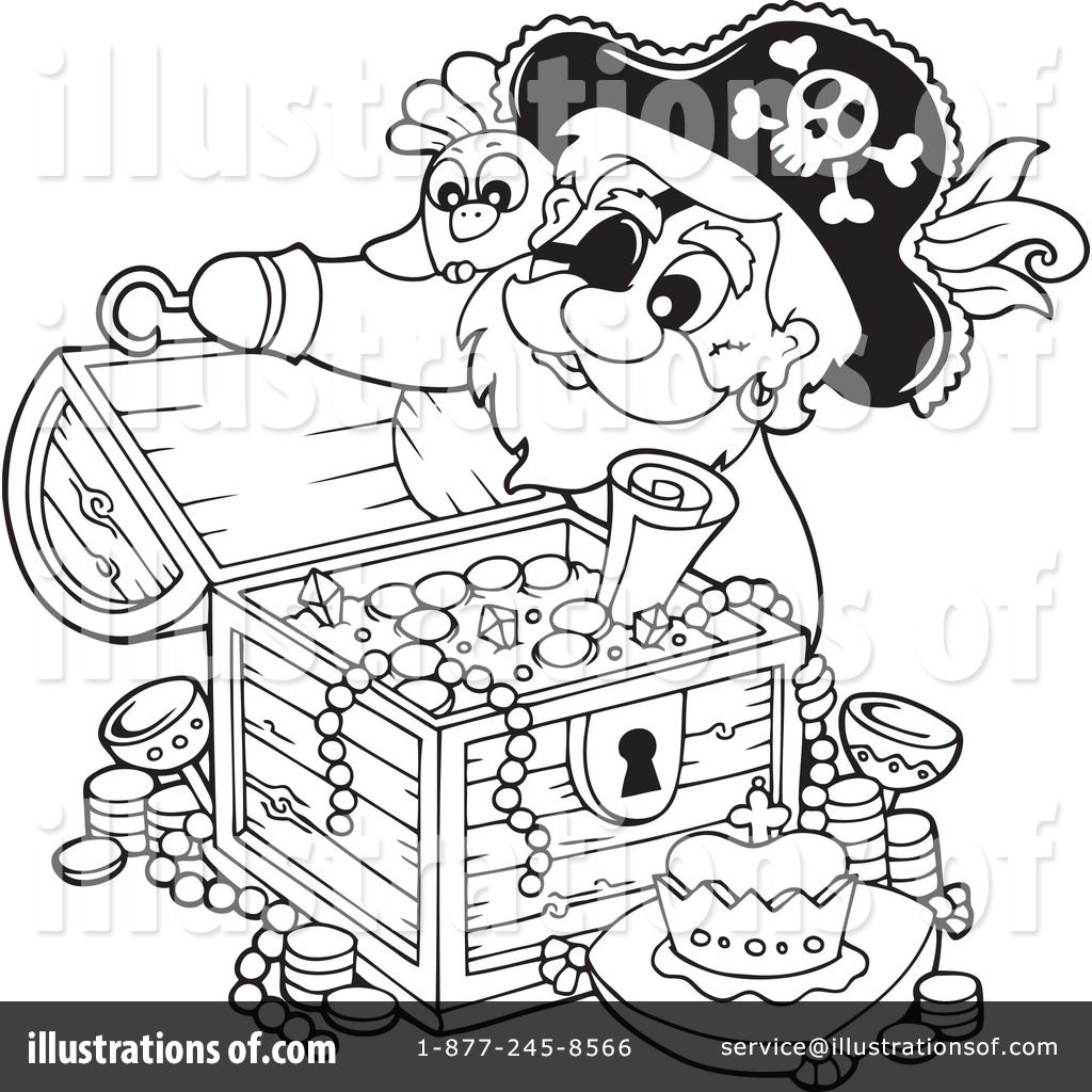 Pirate clipart outline By Illustration Pirate (RF) Clipart