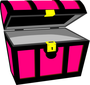 Pirate clipart pink Pirate online vector clip Chest