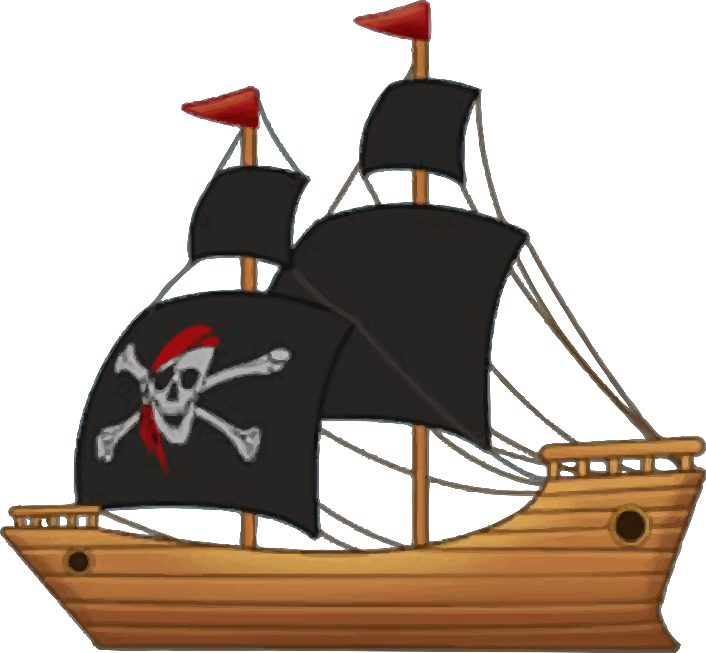 Sailing Ship clipart pirate ship Pirate clipart collection of ship