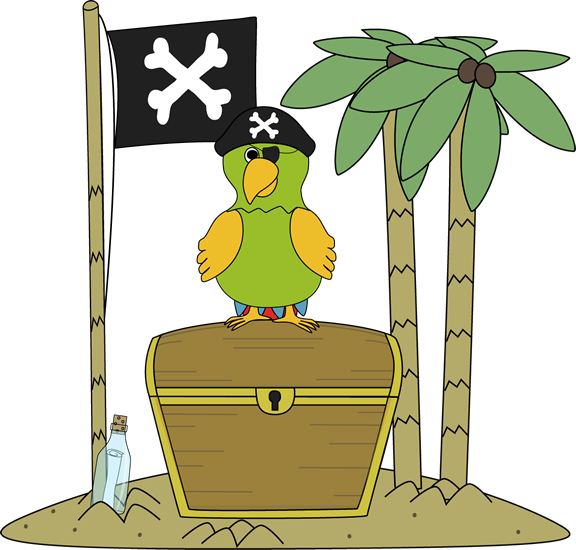 Treasure clipart cute And Parrot Pirate an Pirate