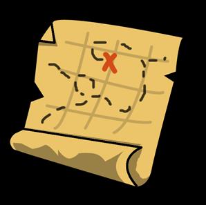 Treasure clipart treasure map To art & pirate Domain