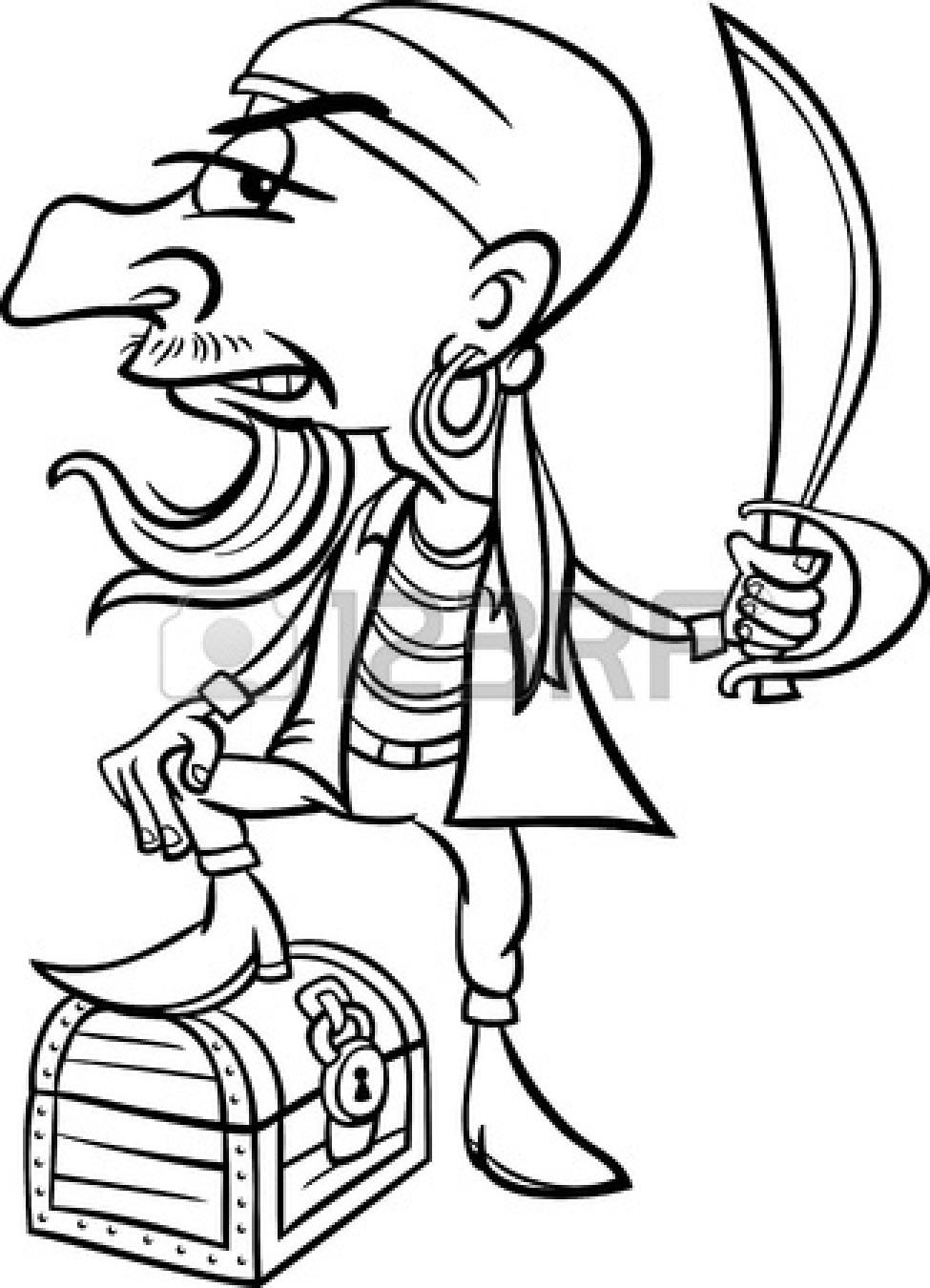 Pirate clipart pirate map #14