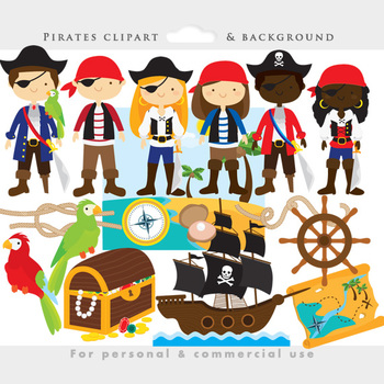 Pirate clipart pirate patch Pirates by by art Pirate