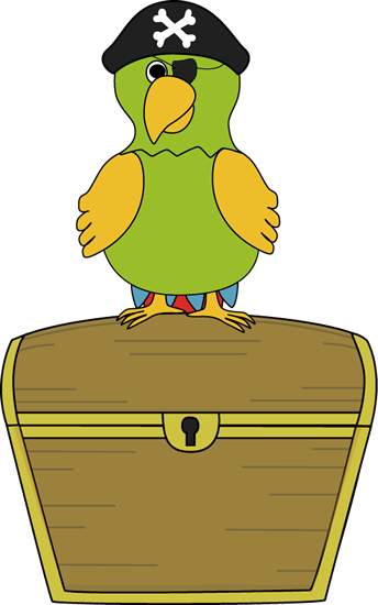 Treasure clipart cute Sitting on Images Chest Pirate
