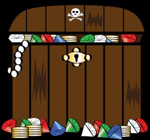 Treasure clipart pirate treasure Chest clipart #24649 clipart Pirate