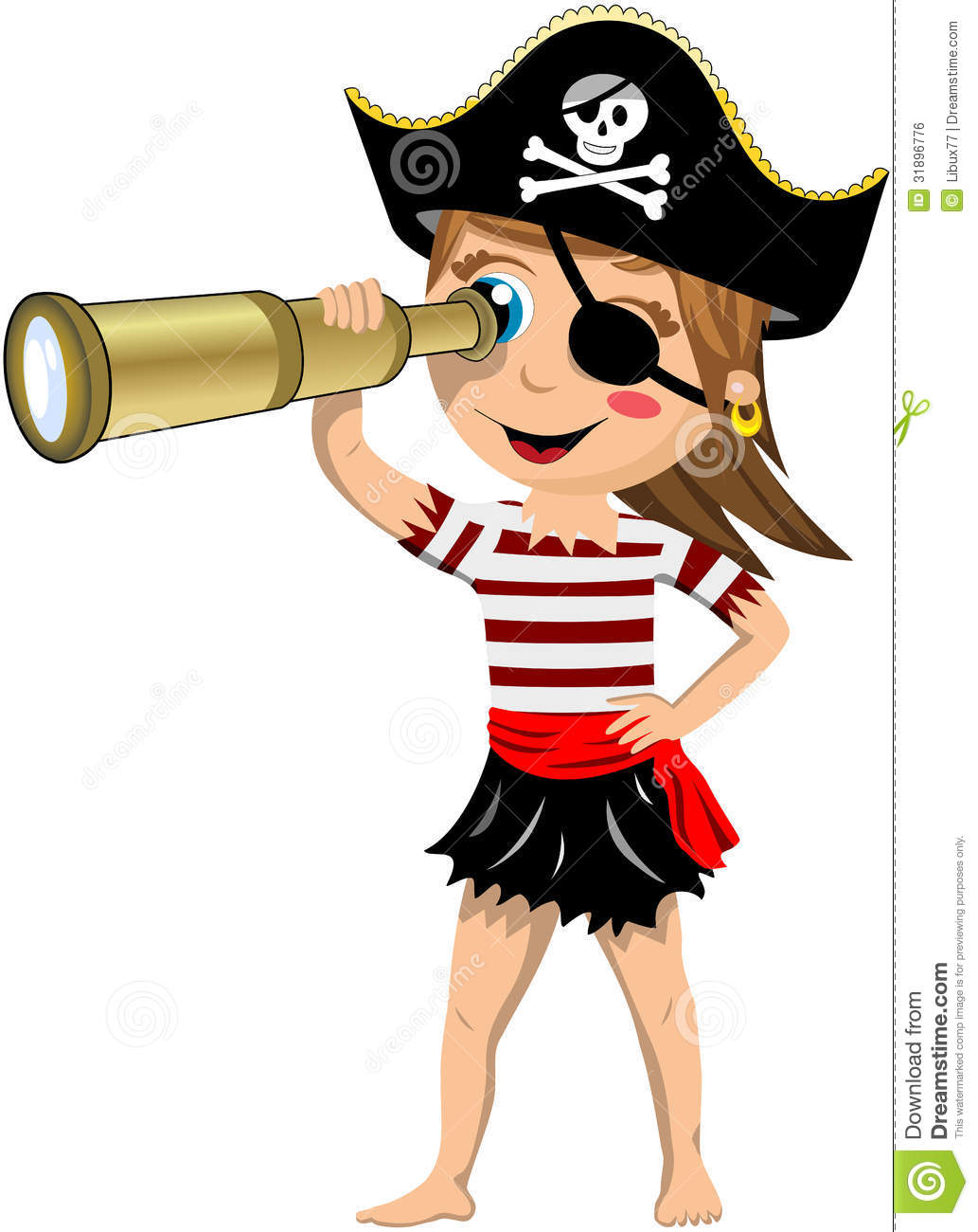Pirates Of The Caribbean clipart pirate face Girl%20pirate%20clipart Clipart Free Pirate Clipart