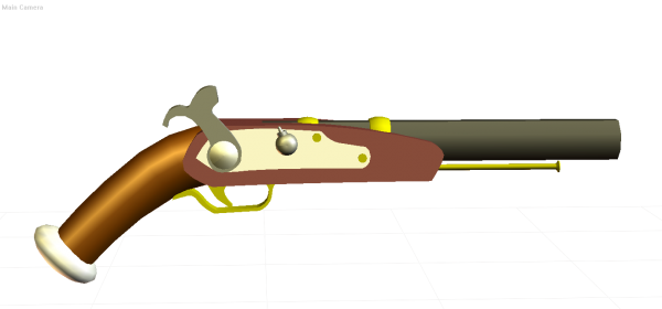 Pirate clipart pistol #10
