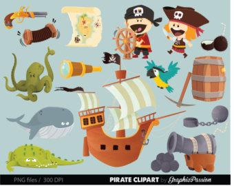 Windows clipart pirate ship Treasure clip Pirate clipart clip