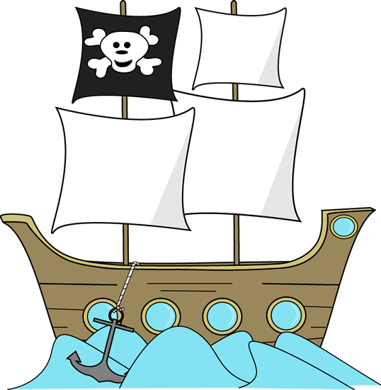 Anchor clipart pirate ship Images Pirate Art the in