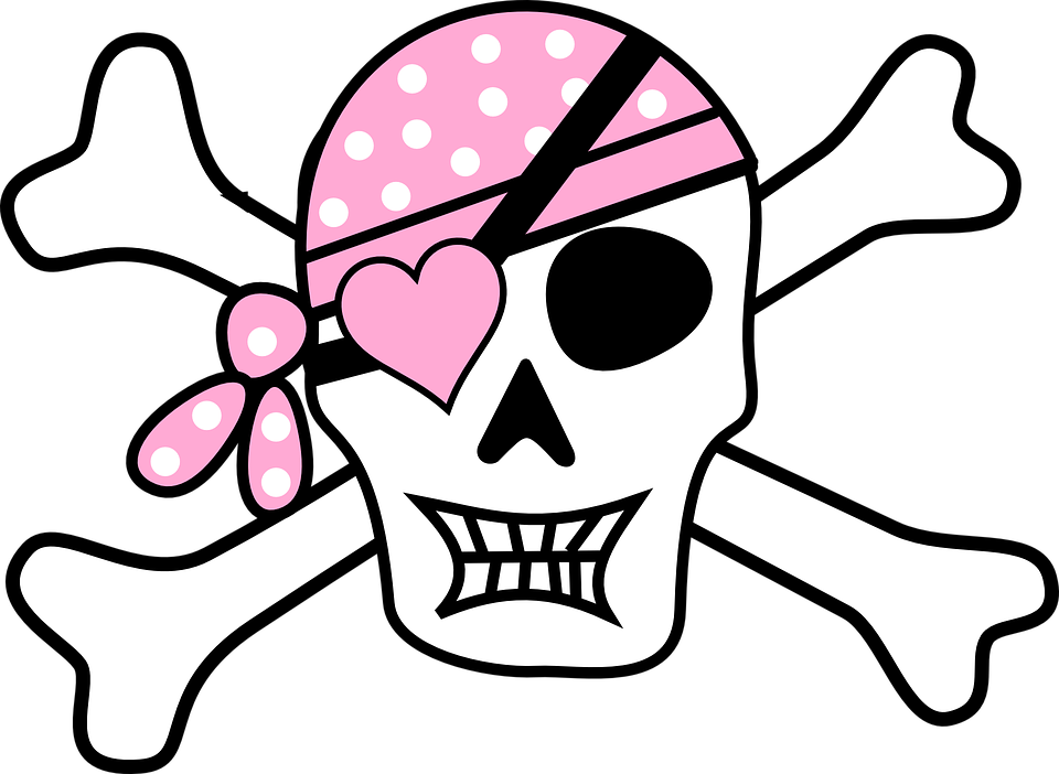 Danger clipart crossbone Graphic: art Skull Pirate clipart
