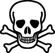 Ssckull clipart pirate skull More Skull Clipart pirate image