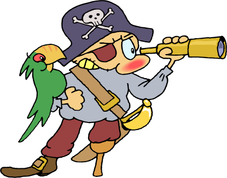 Pirate clipart transparent #3
