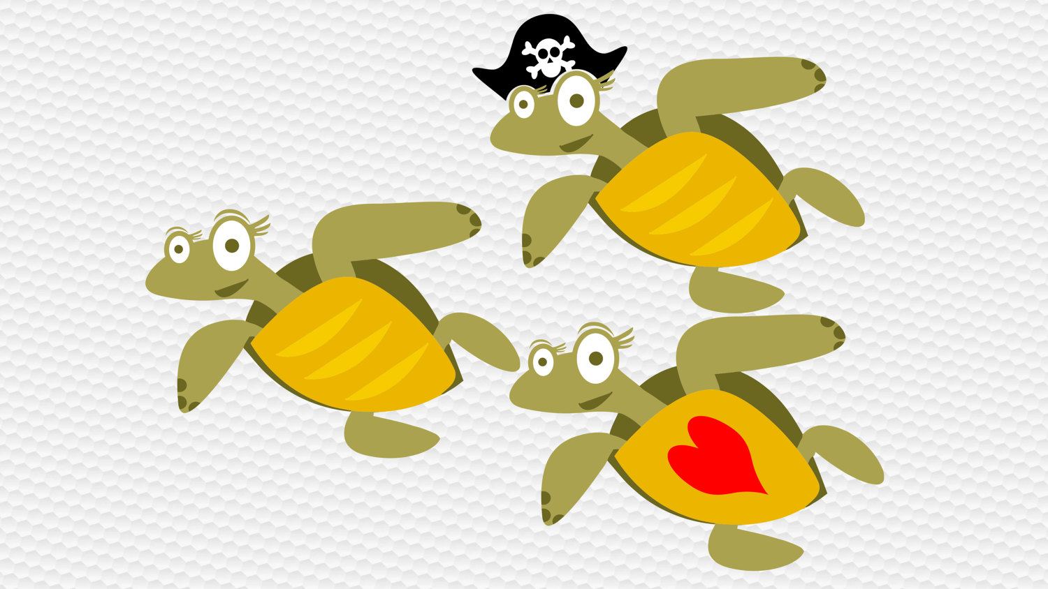 Pirate clipart turtle Digital  This a is