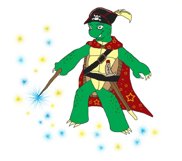 Pirate clipart turtle By Pirate turtle? magician on