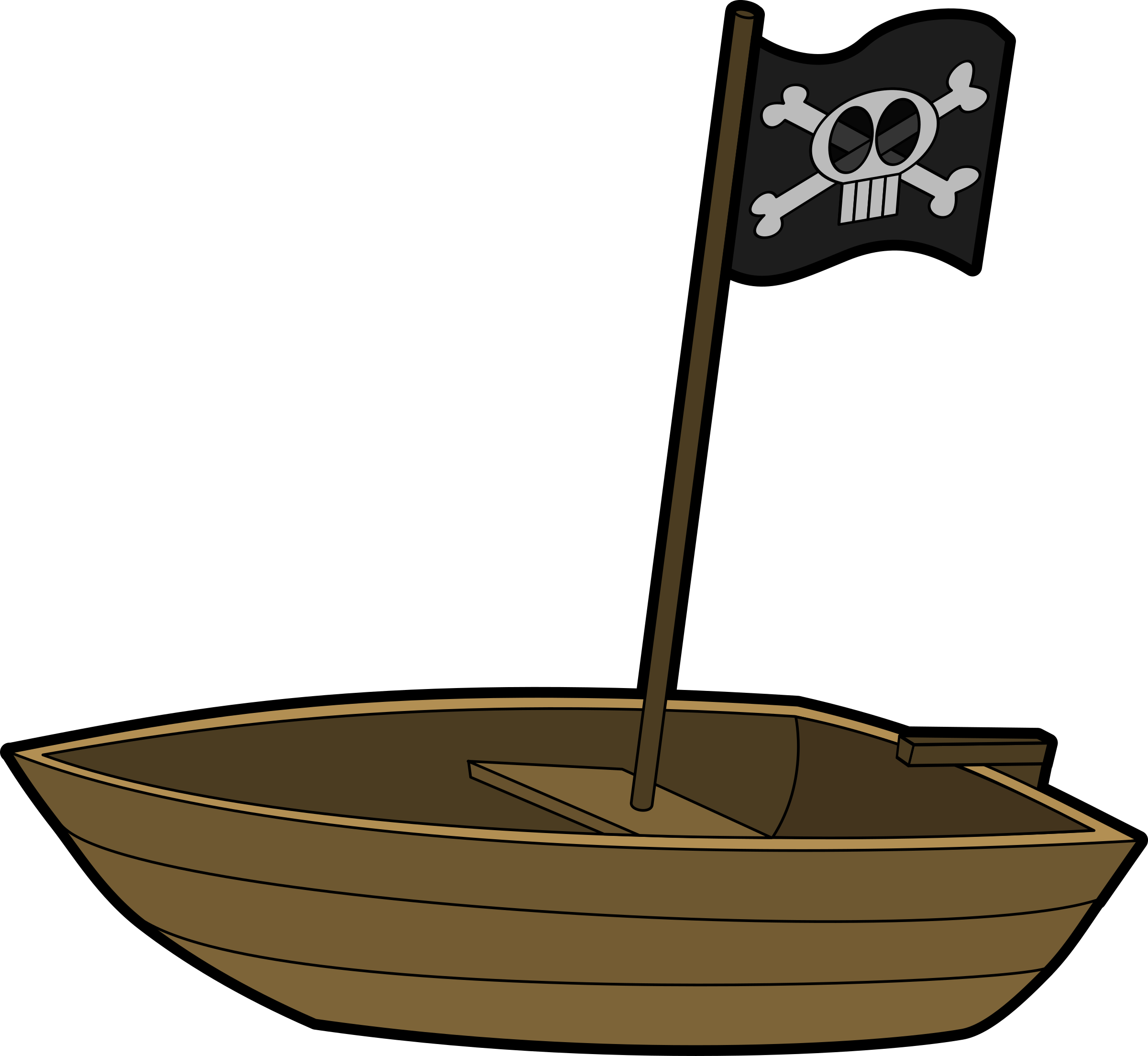 Boat clipart little boat Pirates boat Clipart boat Pirates