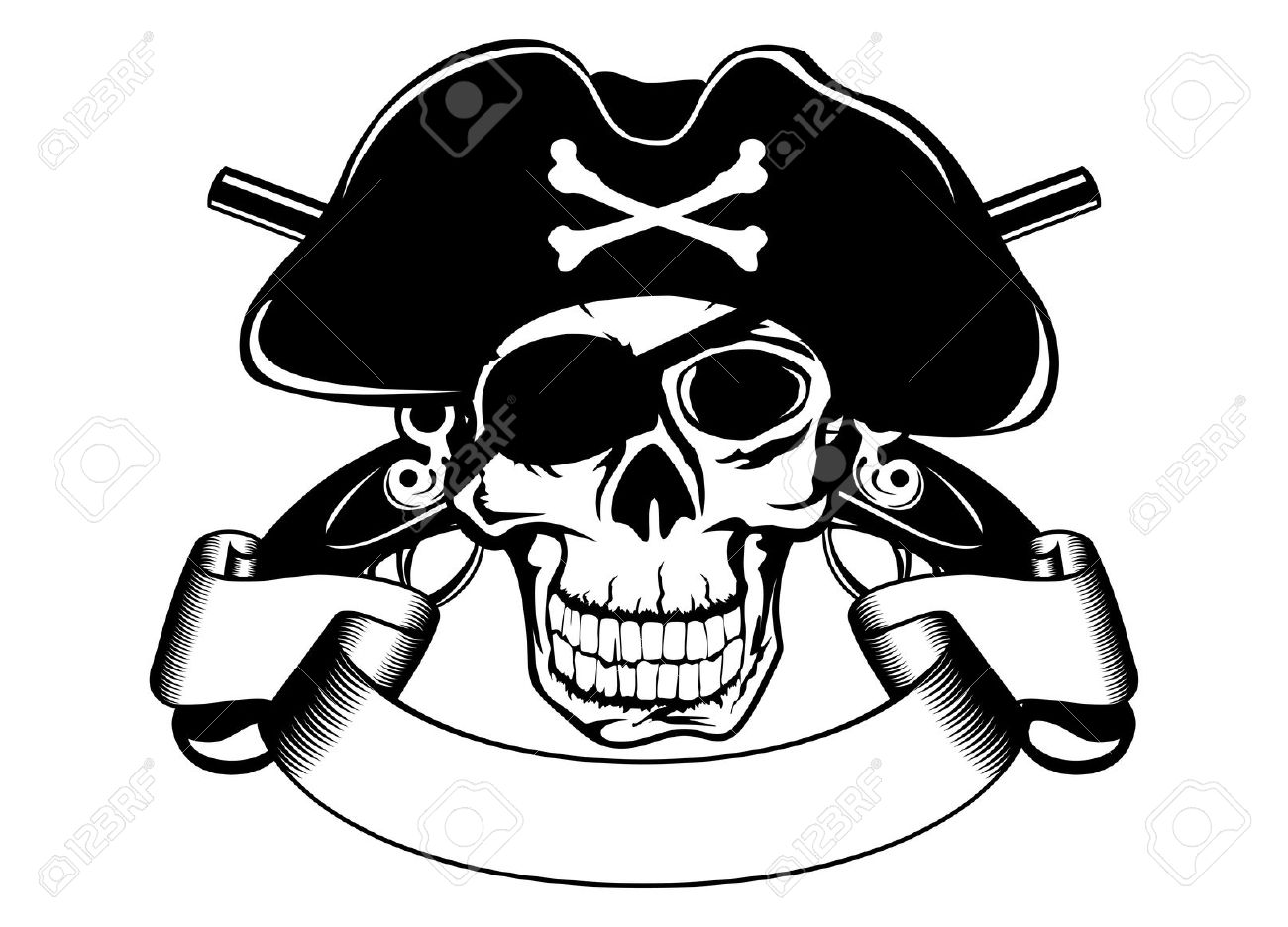 Pirates Of The Caribbean clipart black and white Clipart art pirates clip caribbean