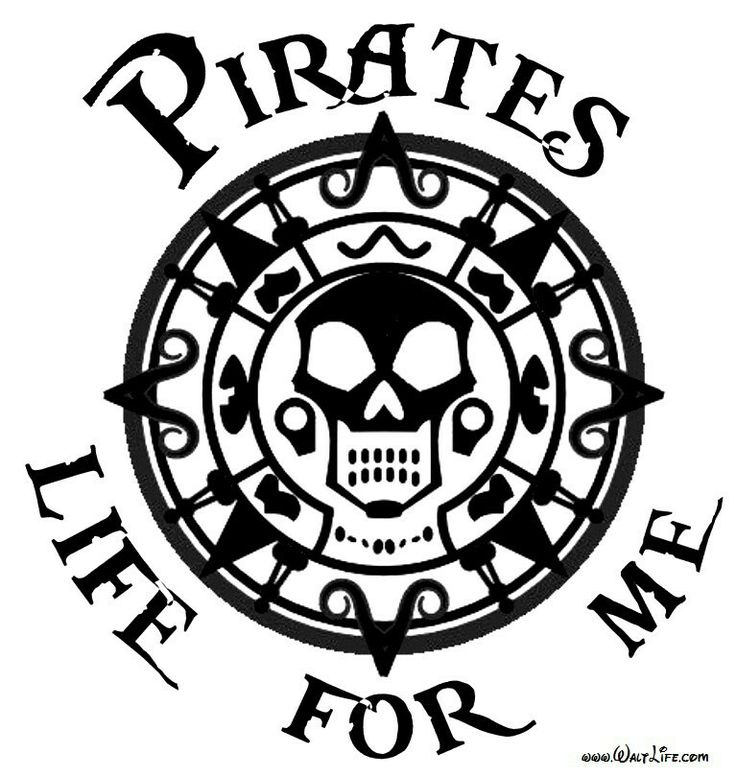 Pirates Of The Caribbean clipart black and white On images <3 on Find