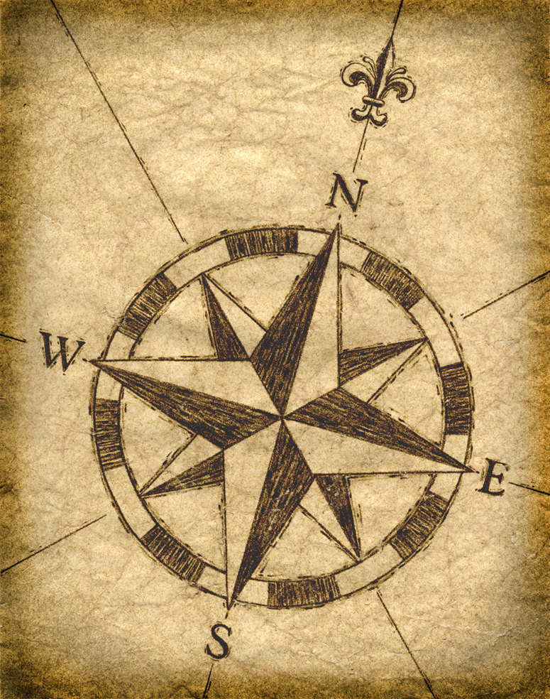 Compass clipart treasure map Compass Maps Treasure Compass Old