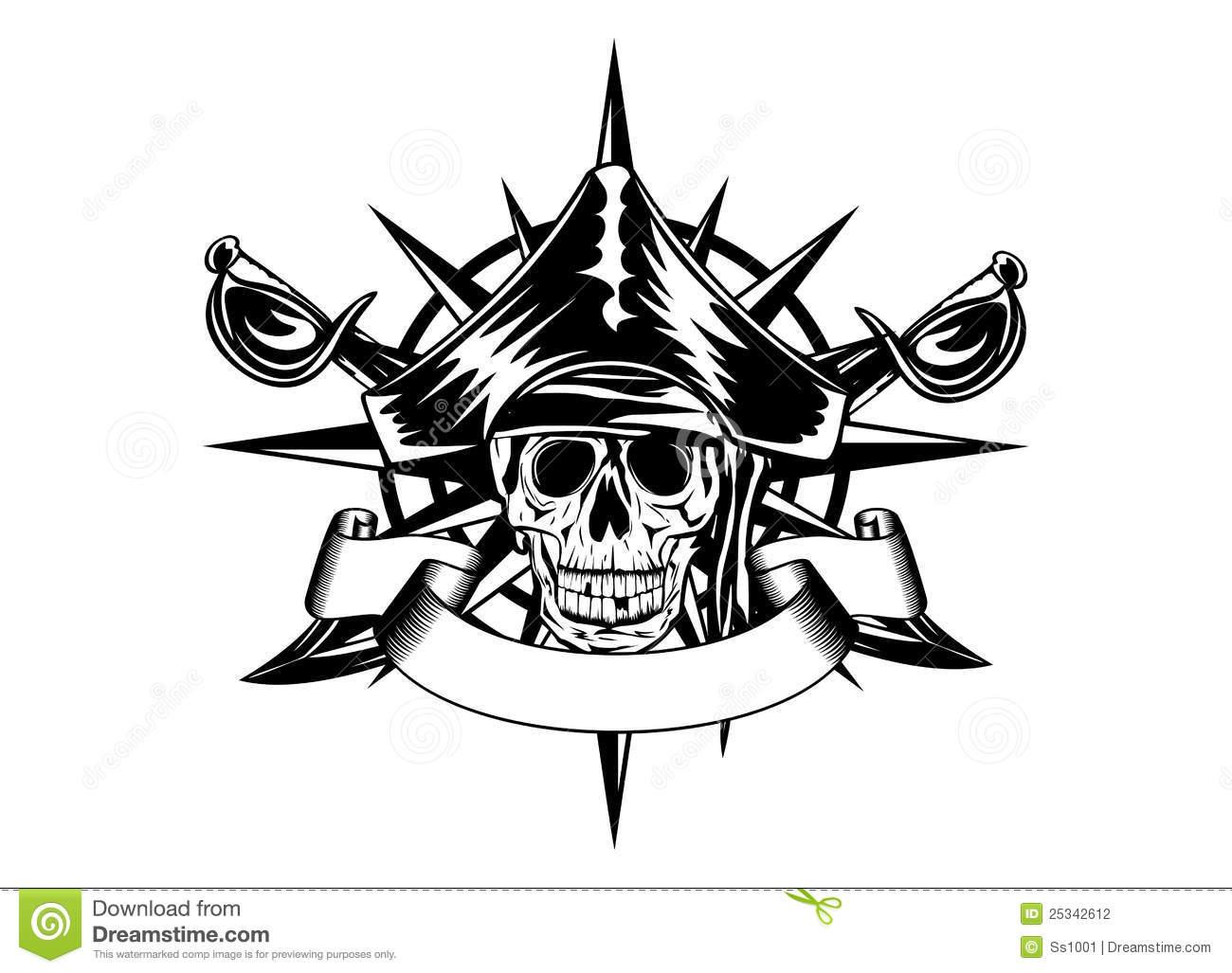Pirates Of The Caribbean clipart compass The tattoo tattoo caribbean pirates