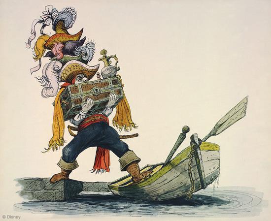 Pirates Of The Caribbean clipart marc davis #1