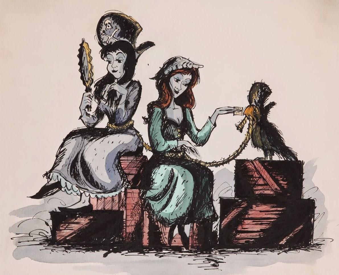 Pirates Of The Caribbean clipart marc davis #3