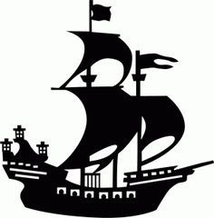Anchor clipart pirate ship Best 62 on Search silhouette