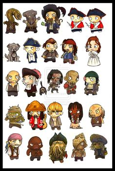 Pirates Of The Caribbean clipart pirate face Pirates I by on