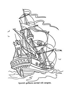 Pirates Of The Caribbean clipart pirate ship To sketch a Draw for