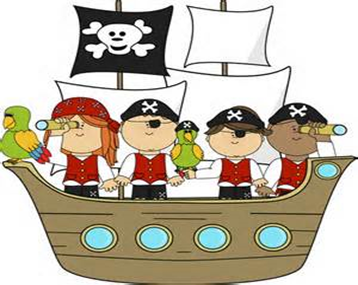 Pirates Of The Caribbean clipart pirate ship  Free Ship Pirate Clipart