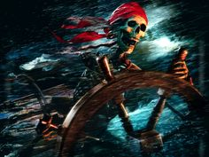 Pirates Of The Caribbean clipart pirate skeleton #8