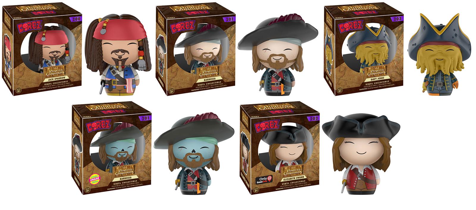 Pirates Of The Caribbean clipart potc Potc Pirates Plush dorbz Pirates