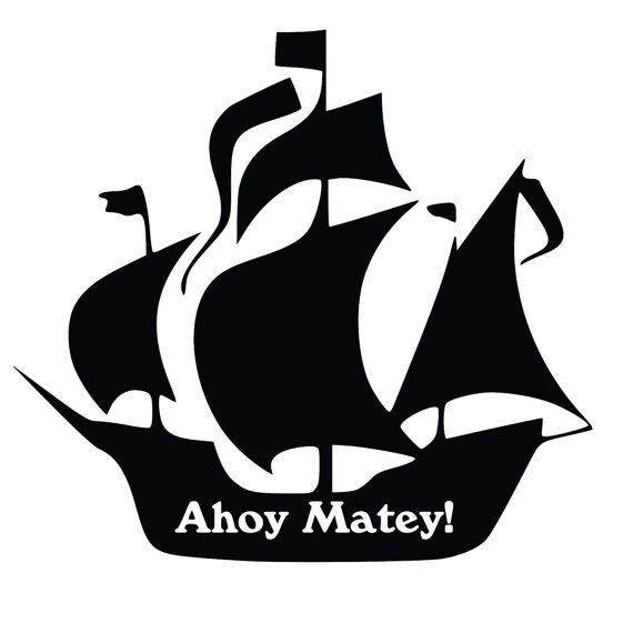 Sailing Ship clipart pirate the caribbean About Logos Silhouette Pinterest on