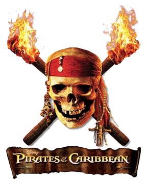 Pirates Of The Caribbean clipart symbol Pirates Logo Title Pirates Pirates
