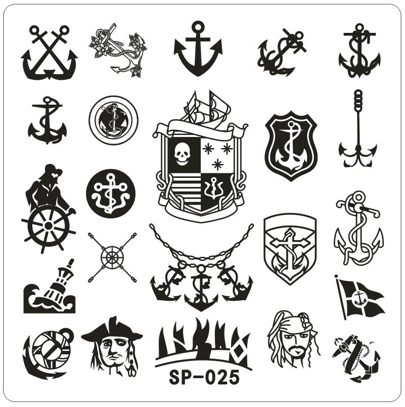 Pirates Of The Caribbean clipart symbol Online Metal Pirate Square Designed