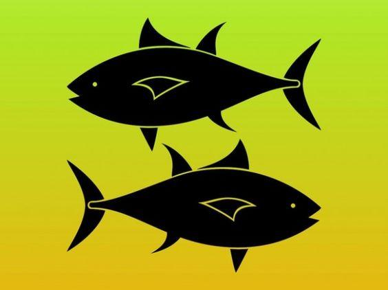Pisces clipart fish silhouette #5