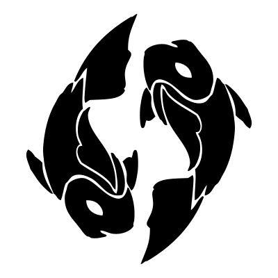 Pisces clipart fish silhouette #1