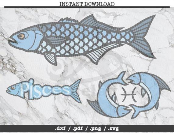 Pisces clipart fish silhouette #3