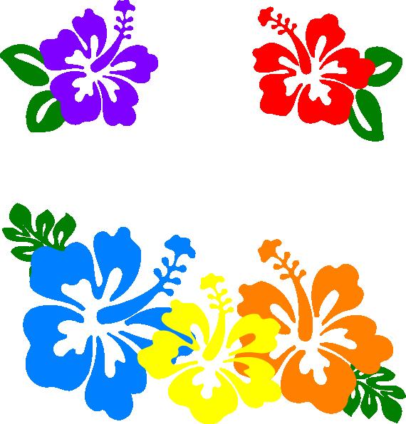Plumeria clipart hawaiian flower Art Flower clip vector Clip