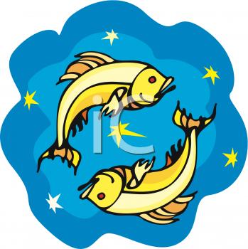 Zodiac clipart fish Symbol In A Pisces Fish