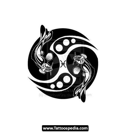 Pisces clipart maori #1