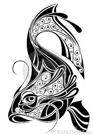 Pisces clipart maori #5