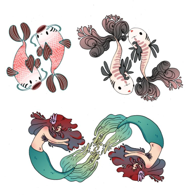 Pisces clipart meaning #3