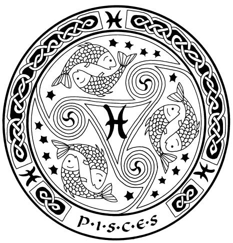 Pisces clipart meaning #6