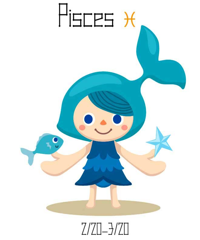 Pisces clipart meaning #15