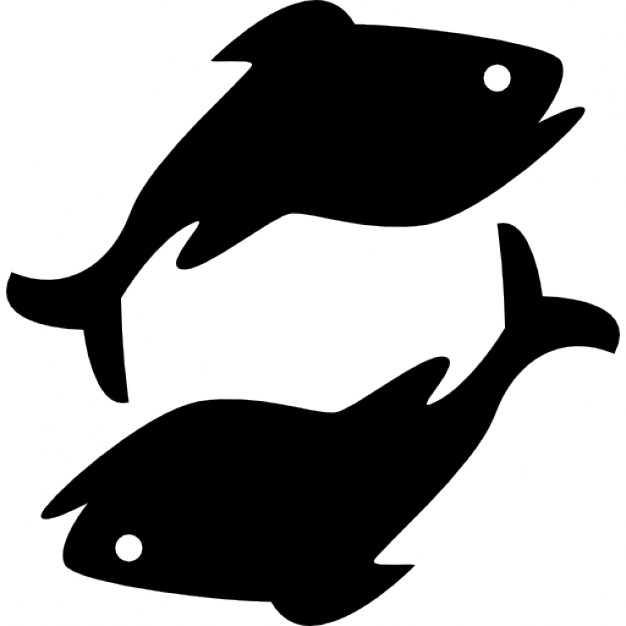 Pisces clipart Pisces Icons Free astrological Pisces