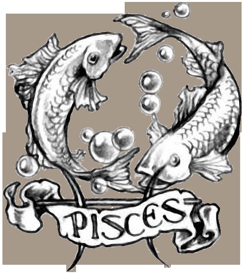 Pisces clipart pisces star sign #9