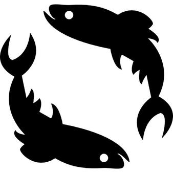 Pisces clipart pisces star sign #3